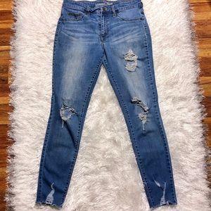 Universal Thread 10/30R Distressed High Rise Jean